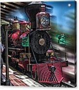 Train Ride Magic Kingdom Acrylic Print