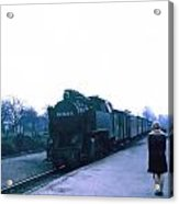 Train Ride. Acrylic Print