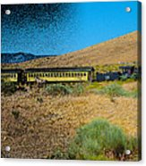 Train-sitions Acrylic Print