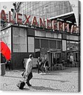 Train Station Alexanderplatz Acrylic Print