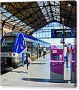Train Station Marseille France Acrylic Print
