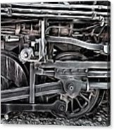 Train - The Wheels Are Turning  Acrylic Print