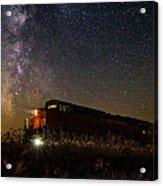 Train To The Cosmos Acrylic Print