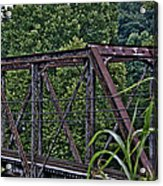 Train Trestle Acrylic Print