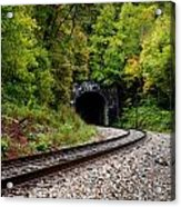 Train Tunnel Acrylic Print