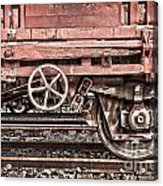 Train Wagon Acrylic Print