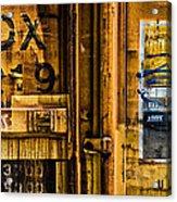 Trainworks.83427 Acrylic Print by Gary LaComa