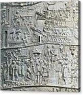 Trajan's Column Acrylic Print
