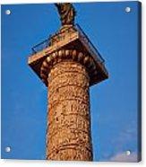 Trajans Column Acrylic Print