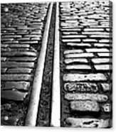 Tramway Acrylic Print by Lesley Rigg