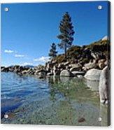 Tranquil Tahoe Beach Acrylic Print