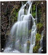 Tranquil Waterfall Acrylic Print