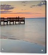 Tranquility At The Bayshore Acrylic Print