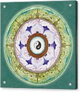 Tranquility Mandala Acrylic Print