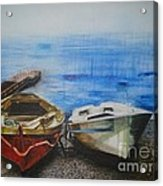 Tranquility Till Tide From The Farewell Songs Acrylic Print by Prasenjit Dhar