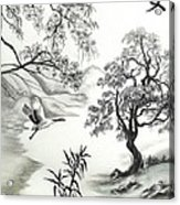 Tranquility W Kona Moringa Acrylic Print