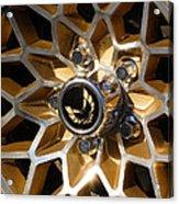 Trans-am Snowflake Wheel Acrylic Print by Gordon Dean II