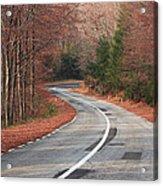 Transfagarasan Road Carpathian Mountains Romania  Acrylic Print