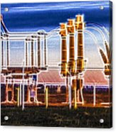 Transfer Of Power Acrylic Print