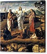 Transfiguration Of Christ 1487 Giovanni Bellini Acrylic Print