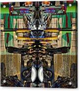 Transformers Transition Hcc Sw Parking Lot  Acrylic Print