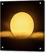 Transit Of Mercury Near Sunrise Acrylic Print