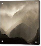 Translucent Rain Clouds Pour Acrylic Print
