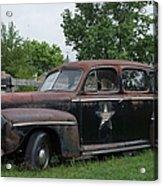 Transportation - Classic - Highway Patrol Acrylic Print