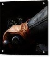 Leather Goes For A Ride Acrylic Print