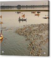 Travel Images Of Burma Acrylic Print