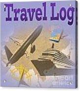 Travel Log Acrylic Print