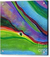 Travelers Foothills By Jrr Acrylic Print