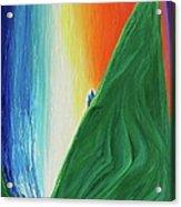 Travelers Rainbow Waterfall By Jrr Acrylic Print
