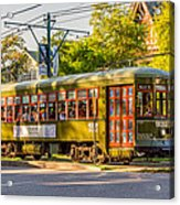 Traveling In New Orleans Acrylic Print