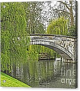 Traveling The Cam Acrylic Print