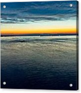 Traverse City Michigan In July Acrylic Print by Theodore Michael
