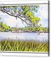 Trawler Waterscape Acrylic Print