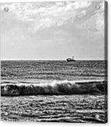 Trawling The Horizon Acrylic Print