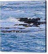 Treacherous Shorebreak Acrylic Print