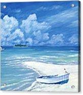 Treasure Cay Acrylic Print