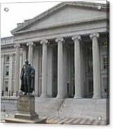 Treasury Department Washington Dc Acrylic Print