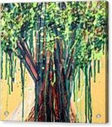 Tree Grit Acrylic Print