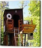 Tree House Boat 2 Acrylic Print