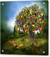 Tree Of Abundance Acrylic Print