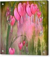 Tree Of Bleeding Hearts Acrylic Print