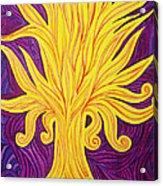 Tree Of Fire Acrylic Print