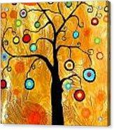 Tree Of Happiness 647 - Marucii Acrylic Print
