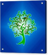 Tree Of Life Acrylic Print by Cheryl Young