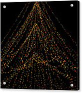 Tree Of Lights Acrylic Print by Christi Kraft