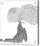 Tree Of Uncertainty Acrylic Print